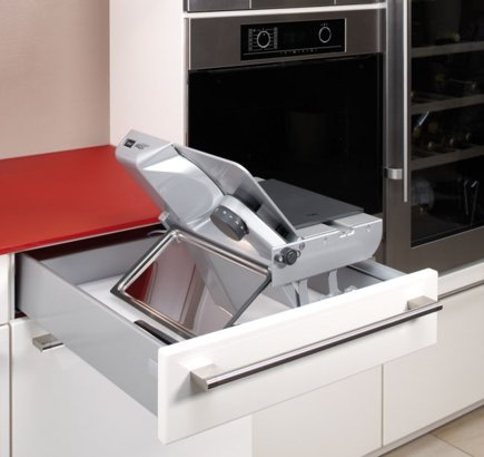 Built-in food slicer BFS 62 SR