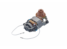 Motor with a brown gear (right-handed operated)