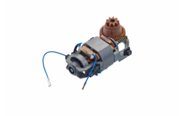 Motor with a brown gear left-handed operated with thermal protection for built-in systems)