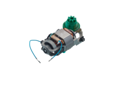 Motor with a green gear (left-handed operated)