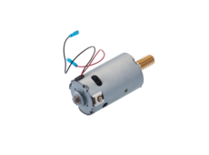 DC motor (right-handed operated)