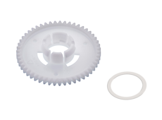 Gear wheel with thrust washer