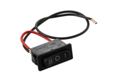 Rocker switch with cable