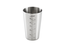 Blending cup made of stainless steel