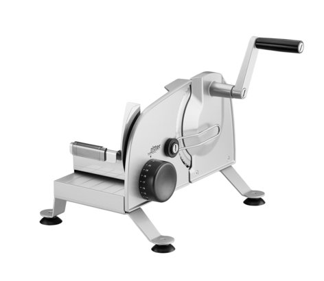 Hand-operated food slicer podio<sup>3</sup>